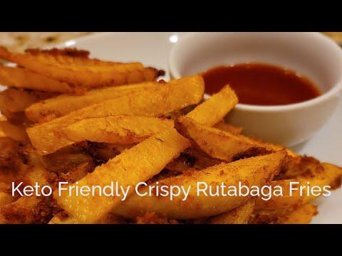 Crispy Rutabaga Fries - Keto Friendly